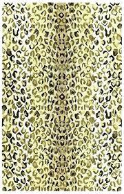 cheetah print rug leopard bath rugs