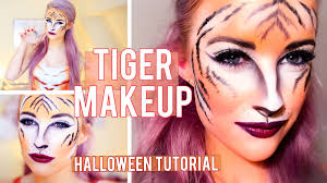 the tiger makeup tutorial