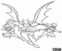 Kleurplaat Batman Batwoman En Robin Kleurplaten