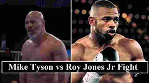 I want all my fans to support me and tune in. Tyson Vs Jones Jr Fight Date Venue Announced