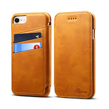 bakeey universal pu leather card slots kickstand protective case for iphone 8 iphone 7 iphone 6 iphone 6s cod