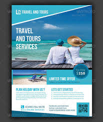 Travel Flyer Template Free Psd Travel Agency Flyers Sample Travel