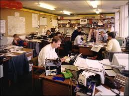 office radio. BBC Radio York\u0027s Photo Album. Production Office