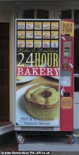 Pie Vending Machine Mesmerizing Pie Of The Storm Family Bakery Causes Row In Quaint Seaside Town By