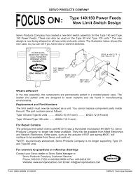 servo power feed 150 wiring diagram pdf servo power feed 150 servo power feed 150 wiring diagram pdf type 140 150 power feeds new limit switch