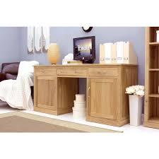 baumhaus mobel solid oak hidden home office. modern light oak large hidden office twin pedestal desk baumhaus mobel solid home t