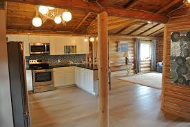 Log Home Interior Design West Coast Restoration - Log home pictures interior