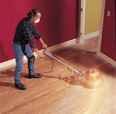 refinishing hardwood floors how to