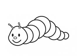Small Picture Small Creeping Caterpillar Coloring Page Science Pinterest