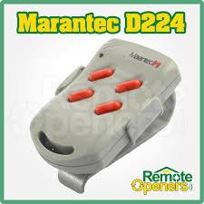 marantec digital 224 genuine garage door remote transmitter x1