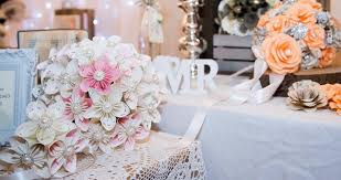 Paper Flower Bouquet For Wedding The Paper Flower Bouquet Handmade Paper Flowers For