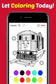 Trains game coloring book is one of the best free trains painting game for kids and adults on android. Drawing App Coloring Thomas Train Friends By Fans For Android Apk Download