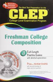 clep freshman college composition clep test preparation editors clep freshman college composition clep test preparation editors of rea clep 9780738600765 com books