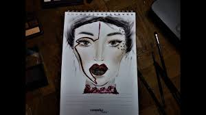 Face Chart Vol 3 Inspired By Kat Von D Youtube