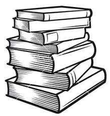 stack of books vector image on vectorstock