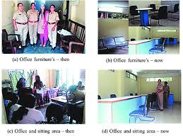 office furniture for women. Ergonomic Interventions Anticipated For Workplace Enhancements Of Women Police Station, Pan Bazar, Guwahati And Some Their Implementations Towards Easing Office Furniture