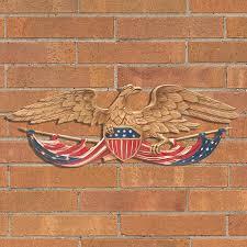 patriotic eagle outdoor wall decor 24  on patriotic outdoor wall art with patriotic eagle outdoor wall decor 24 improvements