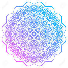 Mandala Indian Designs Abstract Round Pattern Oriental Mandala Design Vector Illustration