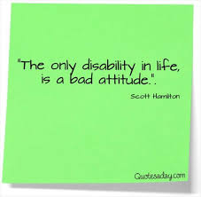 Disability Quotes Beauteous Disability In Life Quotes A Day
