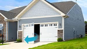 Side Hinge Garage Doors