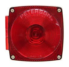 Peterson Lights Dealers Peterson Combination Trailer Tail Light 7 Function