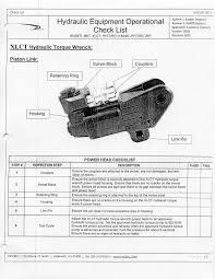 Hytorc Mxt Torque Chart Checklist