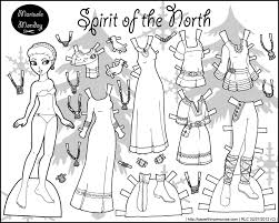 Paper Doll Coloring Pages Fresh Marisole Monday Paper Dolls Coloring