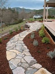 flagstone walkway ideas. flagstone walkway- again using moss between cracks and removing border. walkway ideas