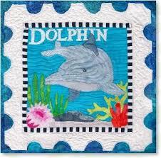 quilt pattern by Zebra - kit & Dolphin quilt pattern by Zebra - kit Adamdwight.com
