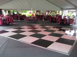 Awesome Black U0026 White Checkerboard Dance Floor Philadelphia Great Ideas