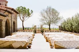 Linen Lace Coverd Hay Bales Wedding Ceremony Seating