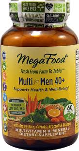MegaFood <b>Multi for Men 40</b> plus -- 60 Tablets - Vitacost