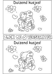 7 Kleurplaten Van Puzzels Valentijnsdag