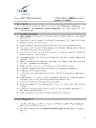 qa manual tester sample resume tester sample resume professional tester  manual tester resume format