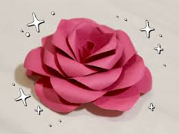 Rose Flower With Paper Make These Lovely Paper Roses Instead Of Buying Flowers For