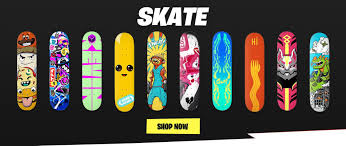 Cool Skateboard Designs Epic Games Releases Irl Downtown Drop Fortnite Skate Decks