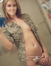 Air Force Military Girl Nude