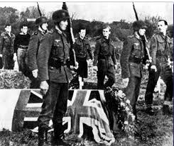 german army iers standing watch at the funeral of a british german army iers standing watch at the funeral of a british ier men of honor after all