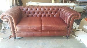popular chesterfield couch intended for 2 seater in genuine leather centurion decor 14