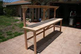 build outdoor plant stand