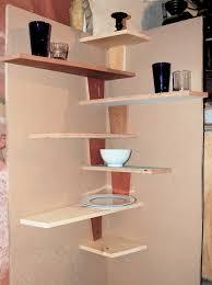 corner shelves furniture. Full Size Of Kitchen:furniture Spacesaver Small Kitchen Spaces Using Diy Wood Floating Corner Shelving Large Shelves Furniture H