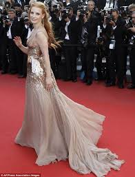 hollywood glamour: picture perfect the help star pictured at cannes in may always looks stunning
