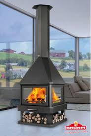 Central fireplace - All architecture and design manufacturers - Videos