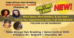 daba s african hair braiding