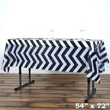 black and white gingham plastic tablecloth disposable checd vinyl end table square striped party kitche kitchen