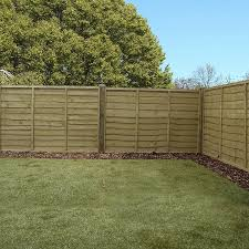 garden fence panels.  Fence Click Image To Enlarge 4ft X 6ft Waltons Pressure Treated Lap Garden Fence  Panel Inside Panels A