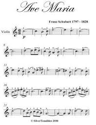 There is an easy way to remember. Ave Maria Easy Violin Sheet Music By Franz Schubert