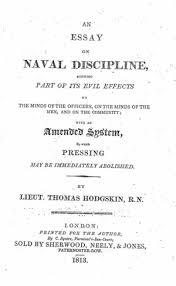 essay on line an essay on naval discipline online library of liberty