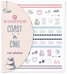 Купить наклейки для ногтей essence Coast 'N' Chill Nail Sticker ...