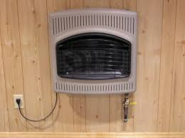 26 glo warm gas wall heater flame mr heater 30 000 btu propane blue flame vent free heater mcnettimages com